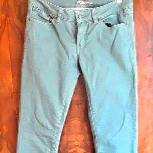 "Prana ""Kara"" jeans in ""Starling green""  size 6/28"
